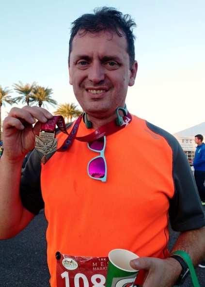 Mesa 10K post race